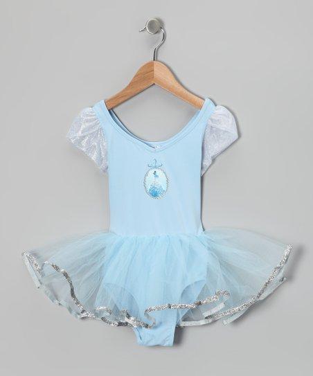 90699d033432 Capezio Blue Cinderella Skirt Leotard - Toddler   Girls