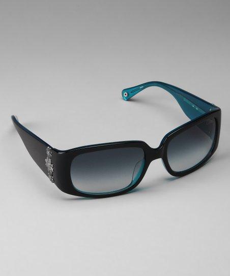 99d7529b0d Coach Sunglasses   Opticals Coach Navy Flower Sunglasses
