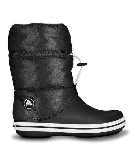 8c0e1a84fa6 Crocs Black Crocband Winter Boot - Women