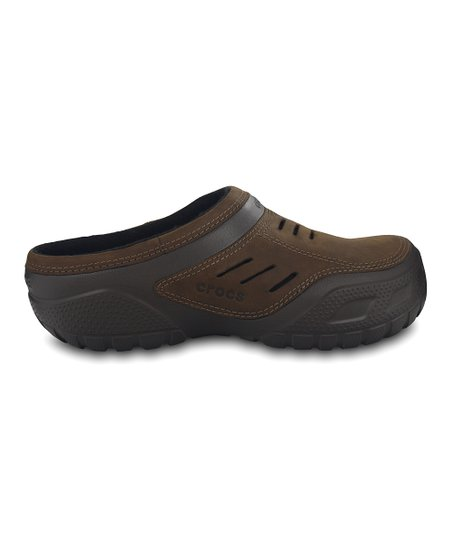 0218abc8f Crocs Espresso Yukon Sport Lined Clog - Men
