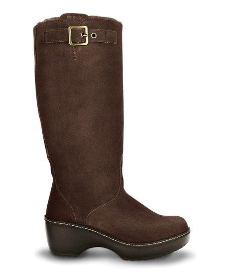 0501ea4991b5 Espresso Crocs Cobbler Boot - Women