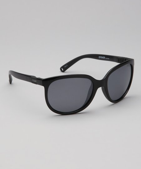 77c8be4464 love this product Satin Black   Smoke Size 2 Polarized Sunglasses - Women