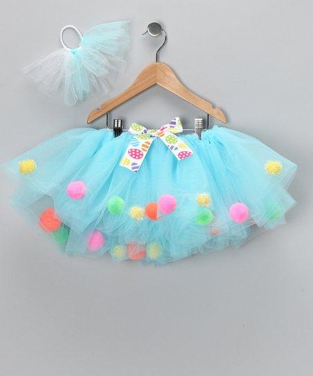 love this product Aqua Pom-Pom Tutu   Hair-Tie - Infant a5e95dd6456