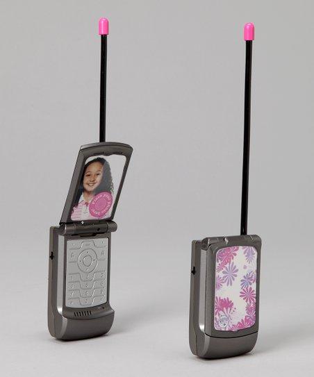 Discovery Kids Flip Phone Walkie-Talkie Set