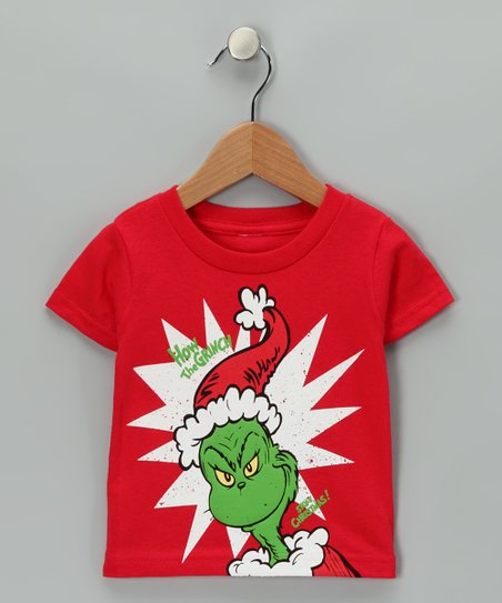 love this product Red  How the Grinch Stole Christmas  Tee - Infant    Toddler 1fcd3b769