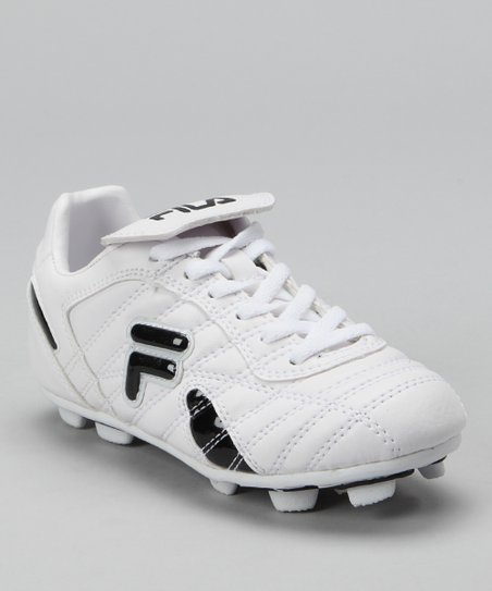 5e0f2ff4f love this product White   Black Forza III Rubber Blade Soccer Cleat - Kids