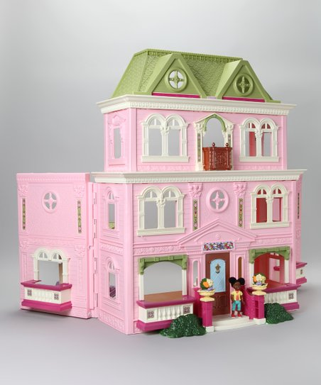 Fisher Price African American Loving Family Dollhouse Mega Set Zulily