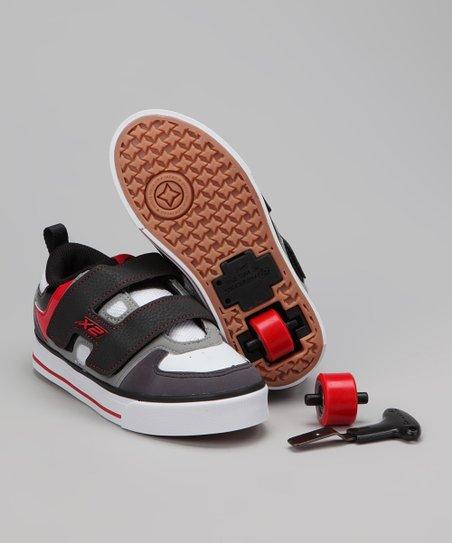 Heelys Gray \u0026 Red Double Wheel Dart