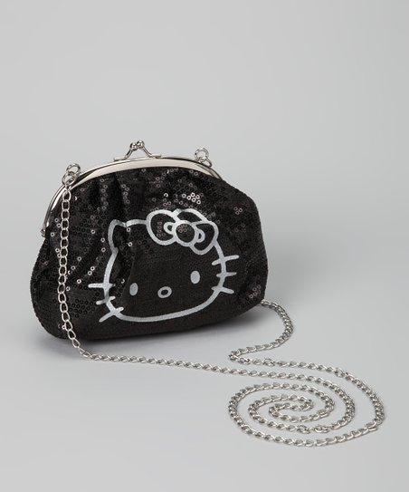4c9816636 love this product Hello Kitty Black Sequin Crossbody Bag