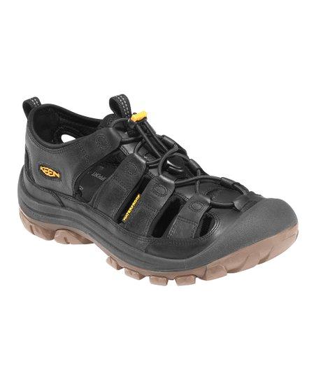 3b95542a64e7 KEEN Black Glisan Closed-Toe Sandal - Men