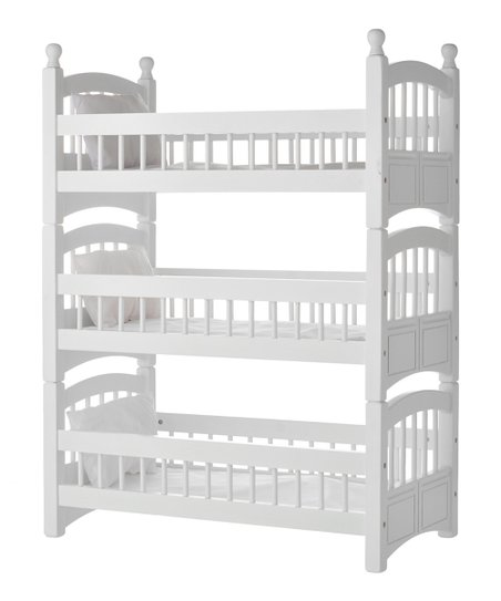 Laurent Doll Triple Doll Bunk Bed Set For 18 Doll Zulily