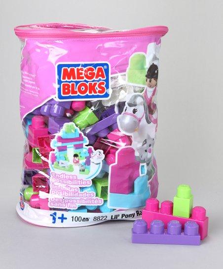Mega Bloks Lil Pony Ranch Blok Set Zulily