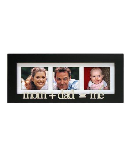 Mom Plus Dad Equals Me Frame   zulily
