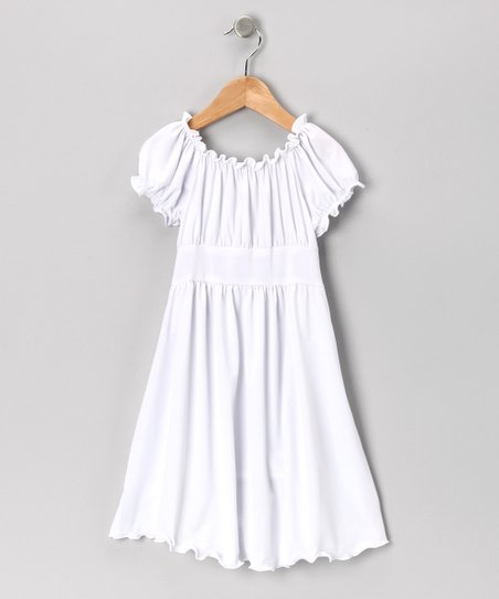 db073f3e7d9 love this product White Peasant Dress - Toddler
