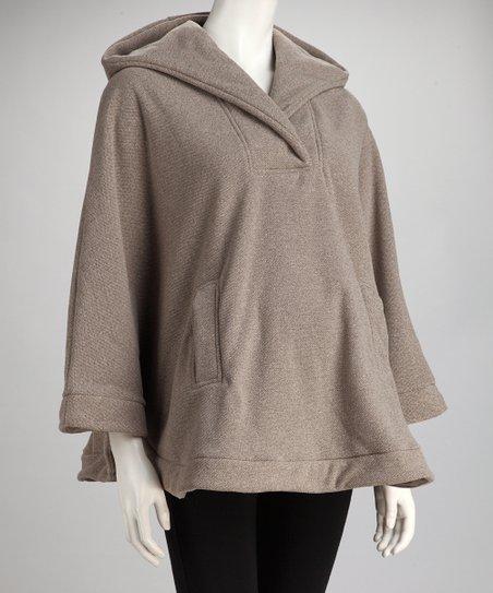 0d0caffea5959 love this product Mountain Mama Oatmeal Hooded Acadia Maternity & Nursing  Poncho
