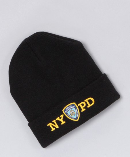 love this product Black  NYPD  Beanie 882376323d9