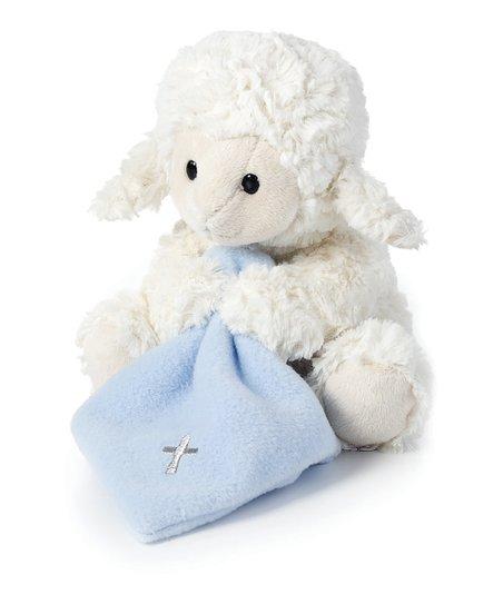 Nat Jules Blue Jesus Loves Me Lamb Plush Toy Zulily