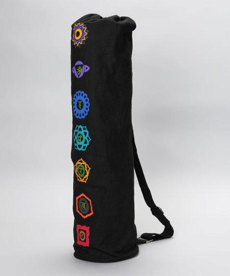 26b238f718 Om Sutra Black Chakra Yoga Mat Bag