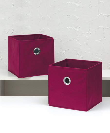 Love This Product Pink Collapsible Storage Bin   Set Of Two