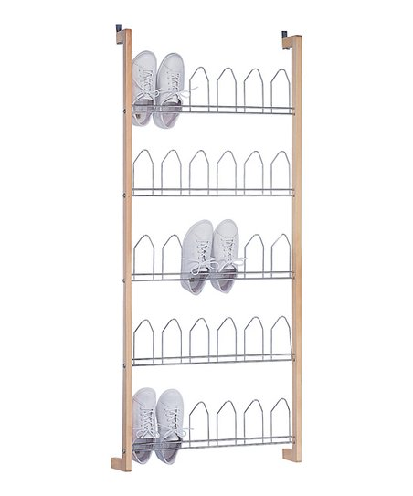 Love This Product Natural U0026 Silver Lexington 15 Pair Over Door Shoe Rack