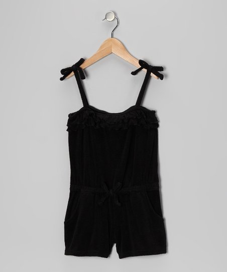 4e22905600e9a love this product Black Ruffle Romper Cover-Up - Toddler