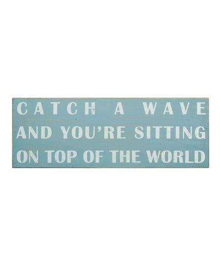 Primitives by Kathy 'Catch a Wave' Box Sign