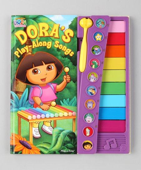 Dora the Explorer Dora Play-Along Songs Board Book | Zulily Dora Map Song on