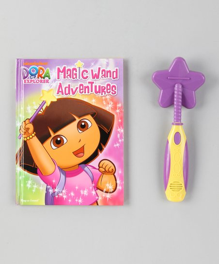 Dora the Explorer Dora Magic Wand Adventures Set