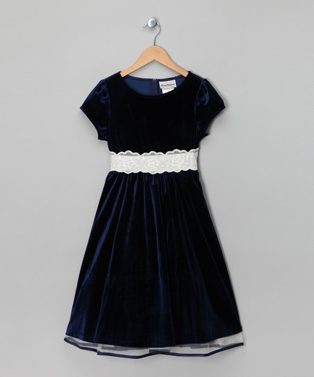 734e8fc08c2 love this product Navy Velvet Dress - Girls