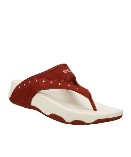 Skechers Red Glam Girl Tone Ups Sandal | Zulily