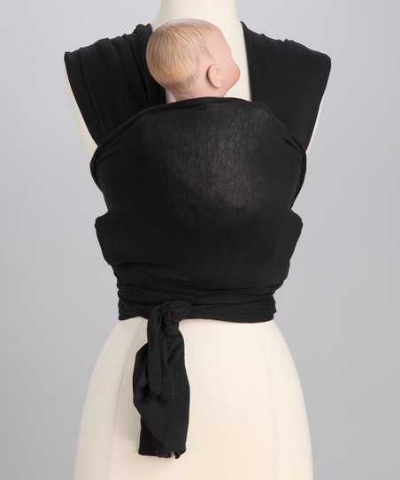 Solly Baby Black Baby Wrap Zulily