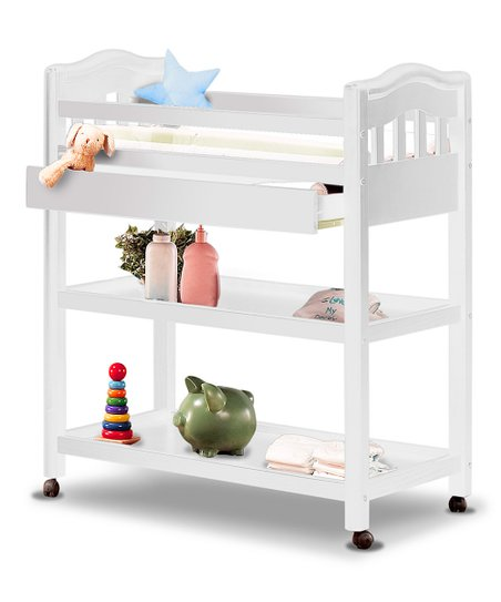 Sorelle French White Sophia Changing Table Zulily