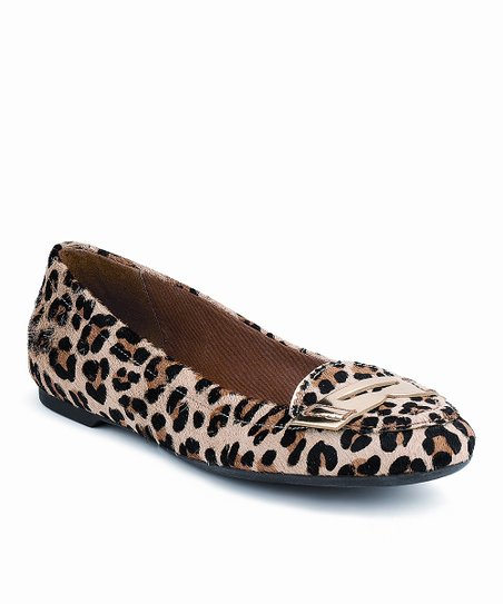 345ff727c91 Sperry Top-Sider Leopard Calf Hair Brooks Loafer