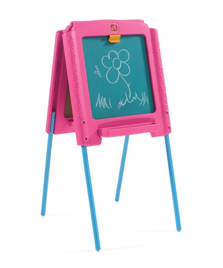 Step2 Pink Sketch Store Easel Zulily