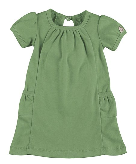7be60d66e214 Those Baby Basics Green Short-Sleeve Dress