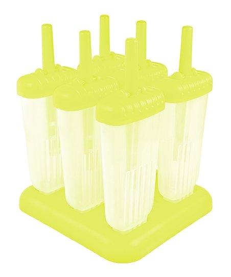 Tovolo Yellow Groovy Ice Pop Mold Set