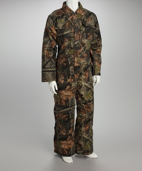 Trailcrest Green   Brown Camouflage Insulated Coveralls - Men  80004fd0dde