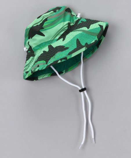 8f6848b5ef6 love this product Green Shark Reversible Bucket Hat - Infant