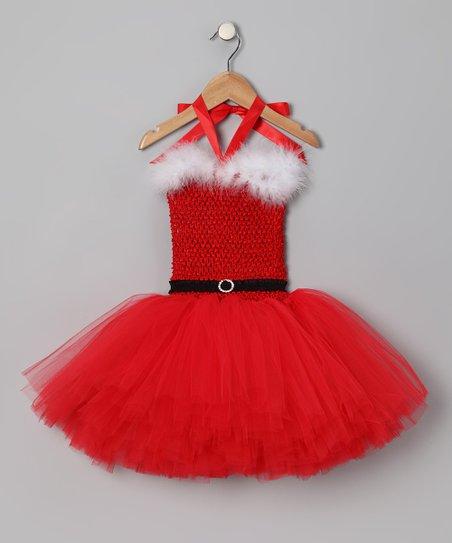 Tutu Mania Red Mrs Claus Tutu Dress Infant Toddler Girls Zulily