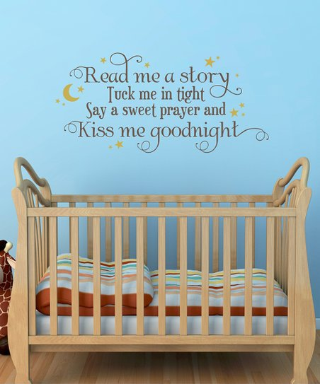 Wall Quotes By Belvedere Designs Belvedere Designs Chocolate Gold Read Me A Story Wall Quote Best Price And Reviews Zulily