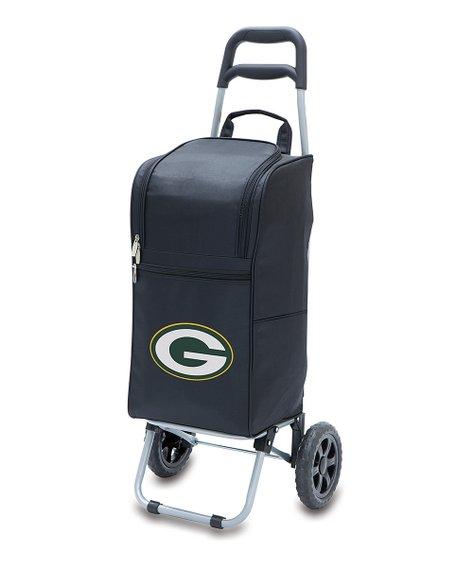 Black Green Bay Packers Cart Cooler - Alternate Image 1