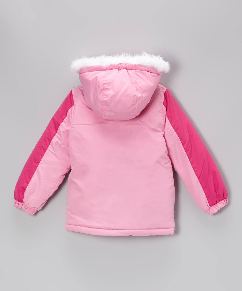 d69aa0b4d love this product Pink Mouse & Hello Kitty Puffer Coat - Girls