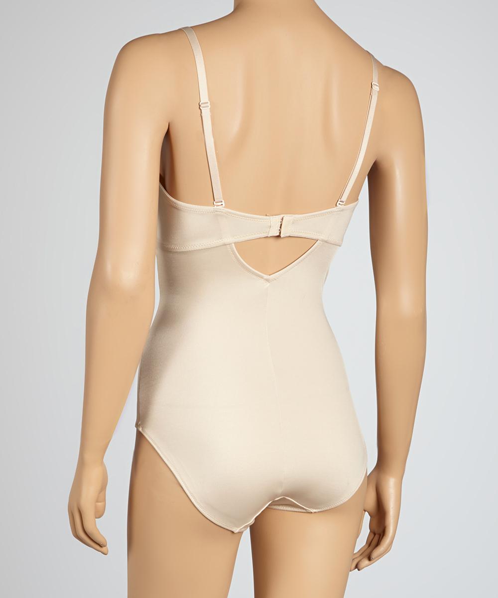 42255c5efd Dr Rey Shapewear Nude Deep Plunge Bodysuit - Women   Plus