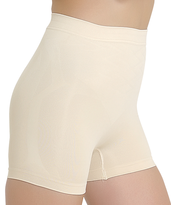 c9af55744eea6 love this product Beige Firm Compression Shaper Shorts - Women   Plus