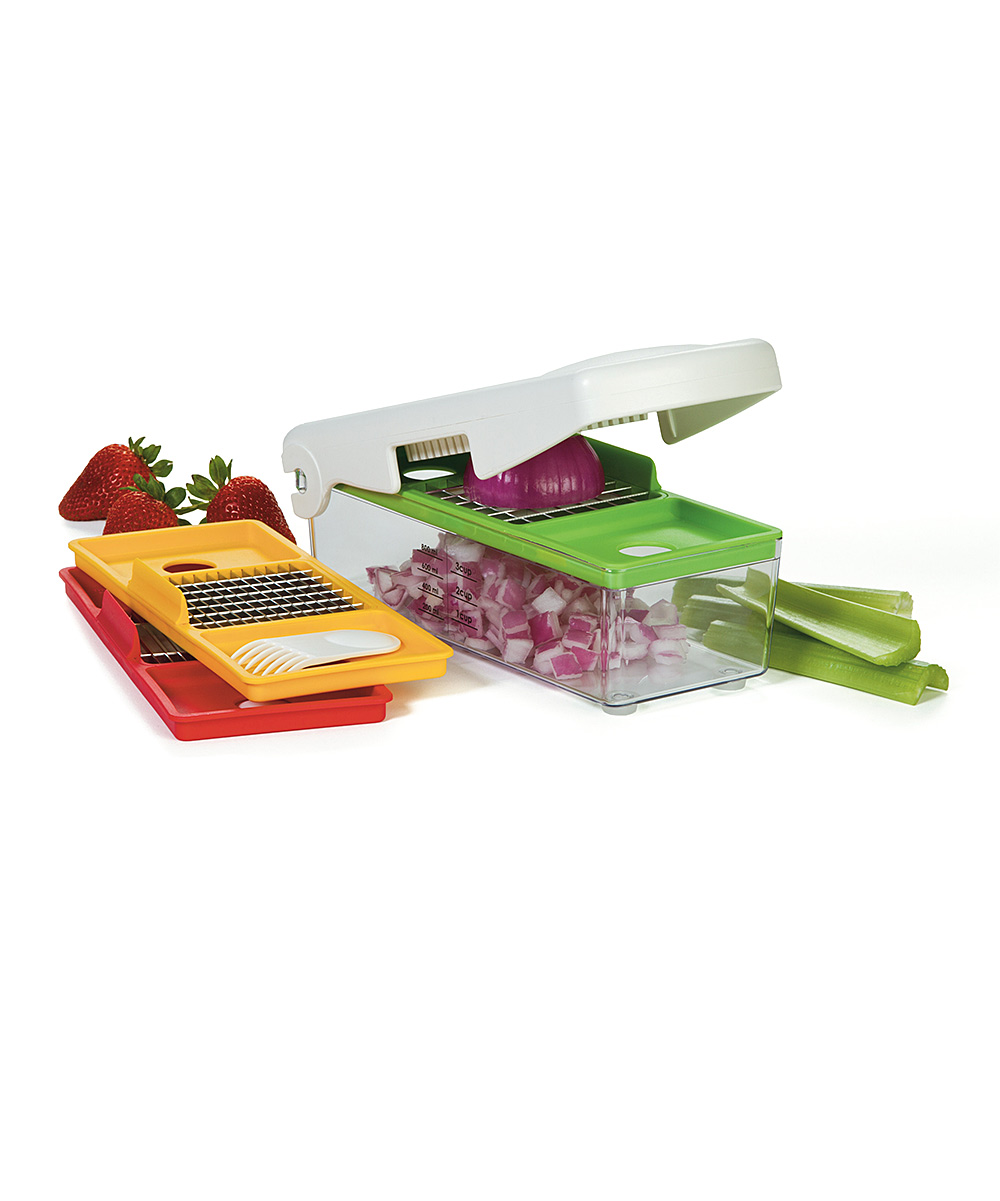 Progressive  Mandolines and Slicers  - Fruit & Vegetable Chopper Set