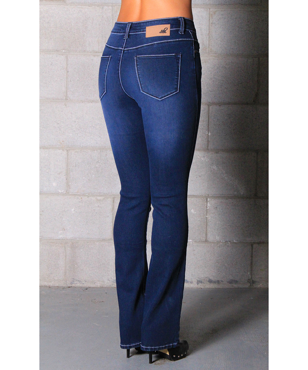 love this product Medium Wash Heidi Stretch High-Rise Bootcut Jeans - Women 4061f5758
