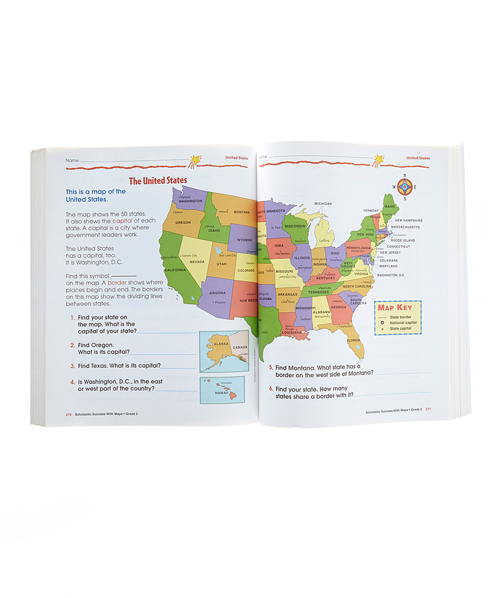 Workbooks big third grade workbook : Bradleys Books Scholastic Success With 1st Grade Workbook | zulily