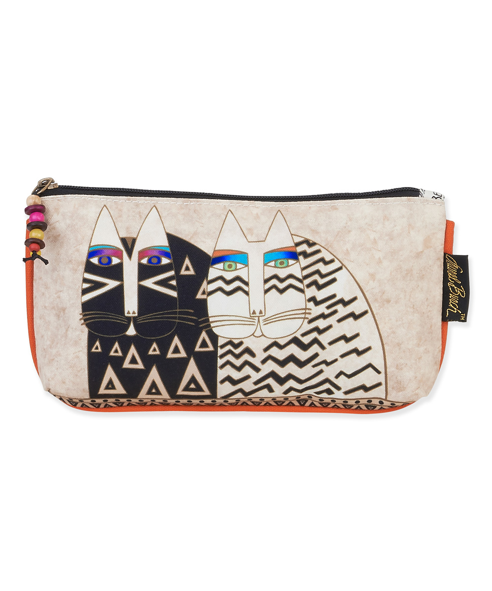 ... Womens multi Beige Wild Cats 3-in-1 Cosmetic Bag Set - Alternate Image 985bd96ab5