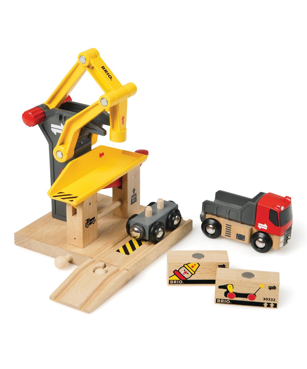BRIO  Toy Trains  - Freight Goods Station Set