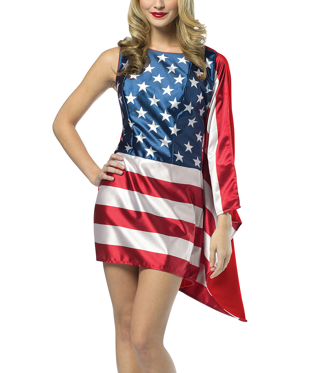 f7c2dcfa495 Rasta Imposta American Flag Dress-Up Outfit - Women